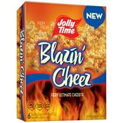Jolly Time Blazin Cheez Microwave Popcorn 3 Oz, 6 Ct