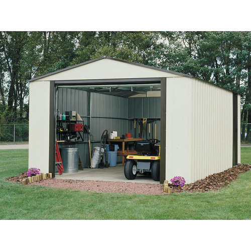 Arrow Murryhill 14 Ft. W x 21 Ft. D Vinyl Coated Steel Storage Shed