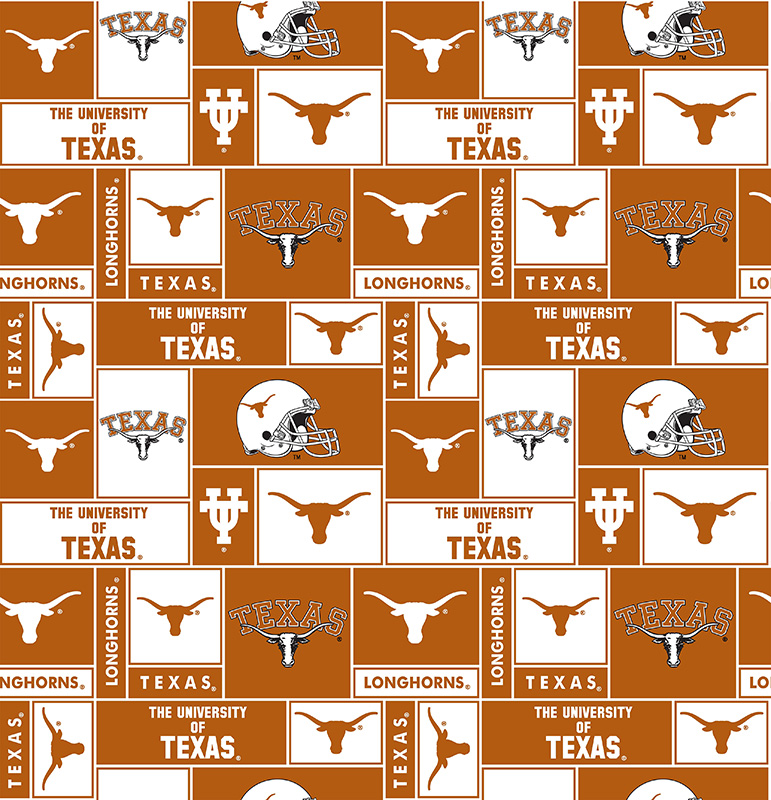 Texas Longhorns Fleece Allover