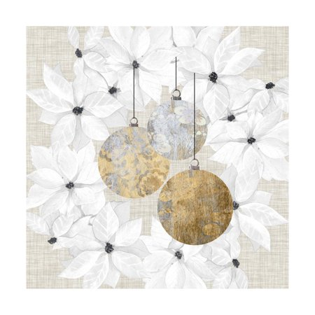 Sophisticated Christmas III Print Wall Art By Grace (Sophisticated Decor)