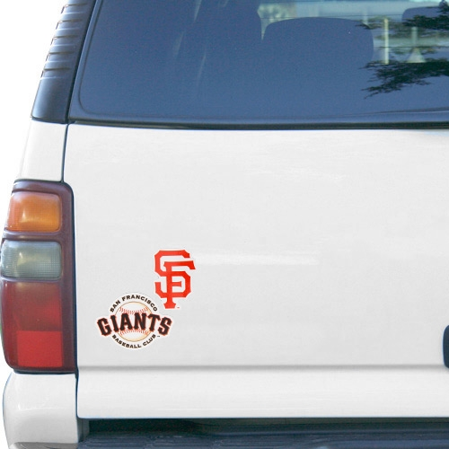 "WinCraft San Francisco Giants 5"" x 9"" 2-Pack Magnet - Orange/Black - No Size"
