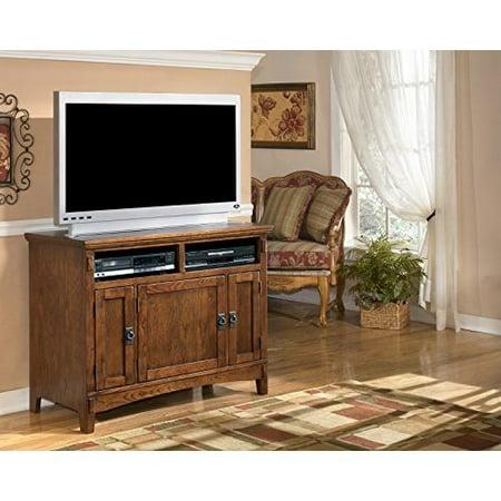 - Ashley Furniture Signature Design - Cross Island - 42 in - TV Stand - Medium Brown