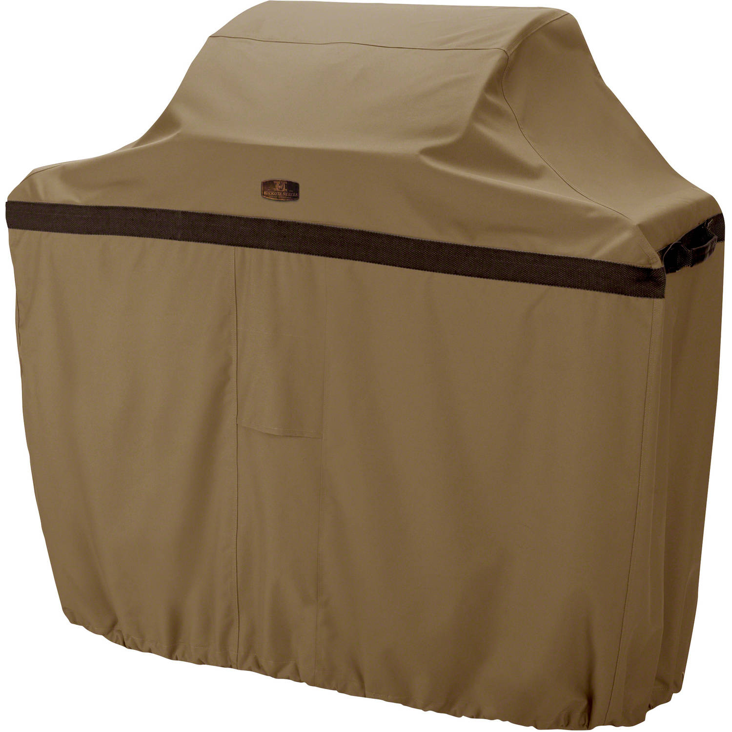 Classic Accessories Hickory Heavy-Duty BBQ Grill Cover, 3X-Large, Tan