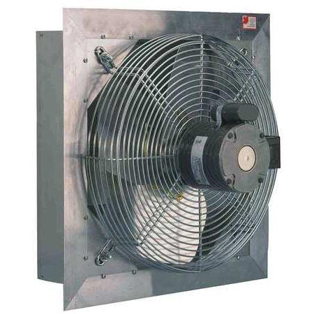 115v Fan (DELHI AX8-3 Shutter Mount Exhaust Fan, 8