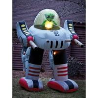 Alien Robot 8' Airblown Halloween Accessory