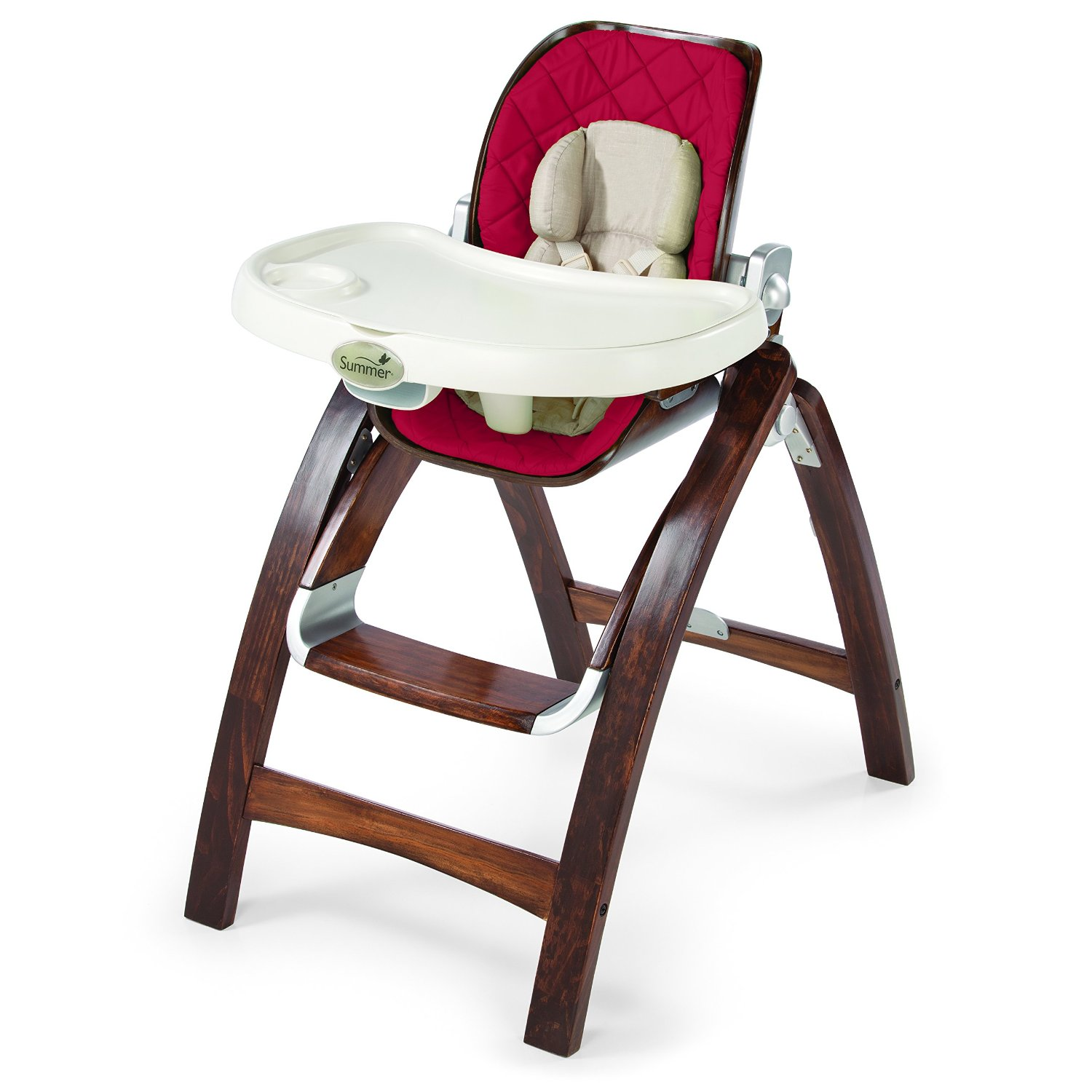 Summer Infant Bentwood High Chair Cranberry by Summer Infant