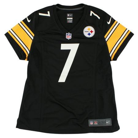 392c0710f Nike Womens NFL Pittsburgh Steelers Ben Roethlisberger Replica Jersey Black  - Walmart.com
