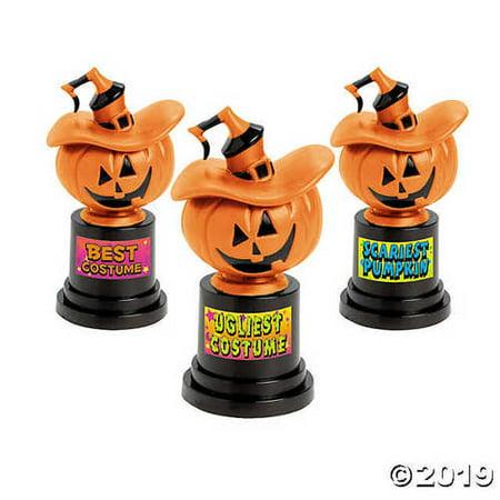 Jack-O'-Lantern Costume Trophies - Trophy Costume