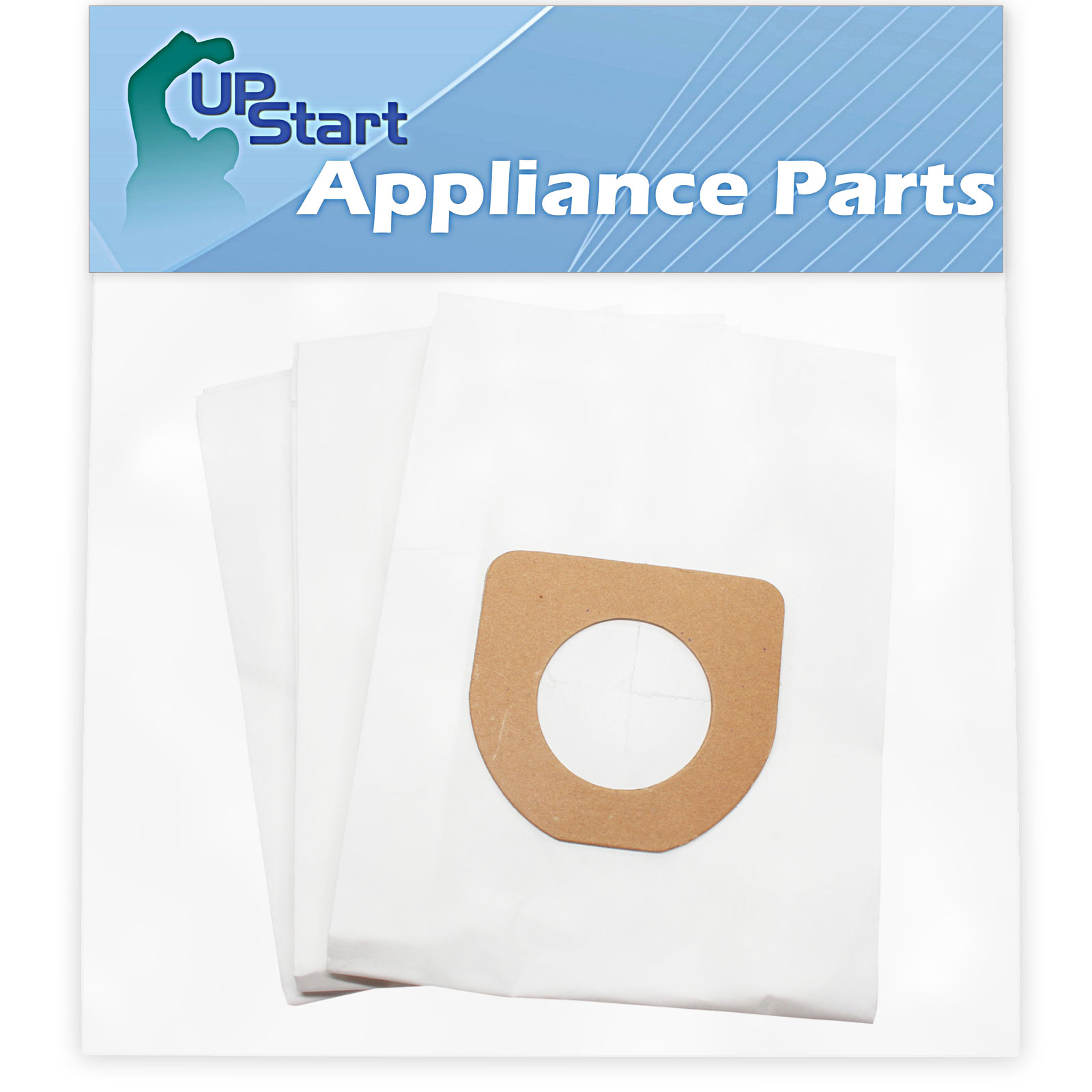 3 Replacement Hoover Caddy Vac Vacuum Bags - Compatible Hoover 4010100Z, Type Z HEPA Vacuum Bags - image 4 of 4