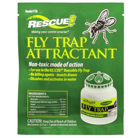 Venus Fly Trap Terrarium - Rescue FTA-DB18 Rescue! Fly Trap Attractant
