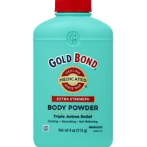 Body Powder: Gold Bond Extra Strength