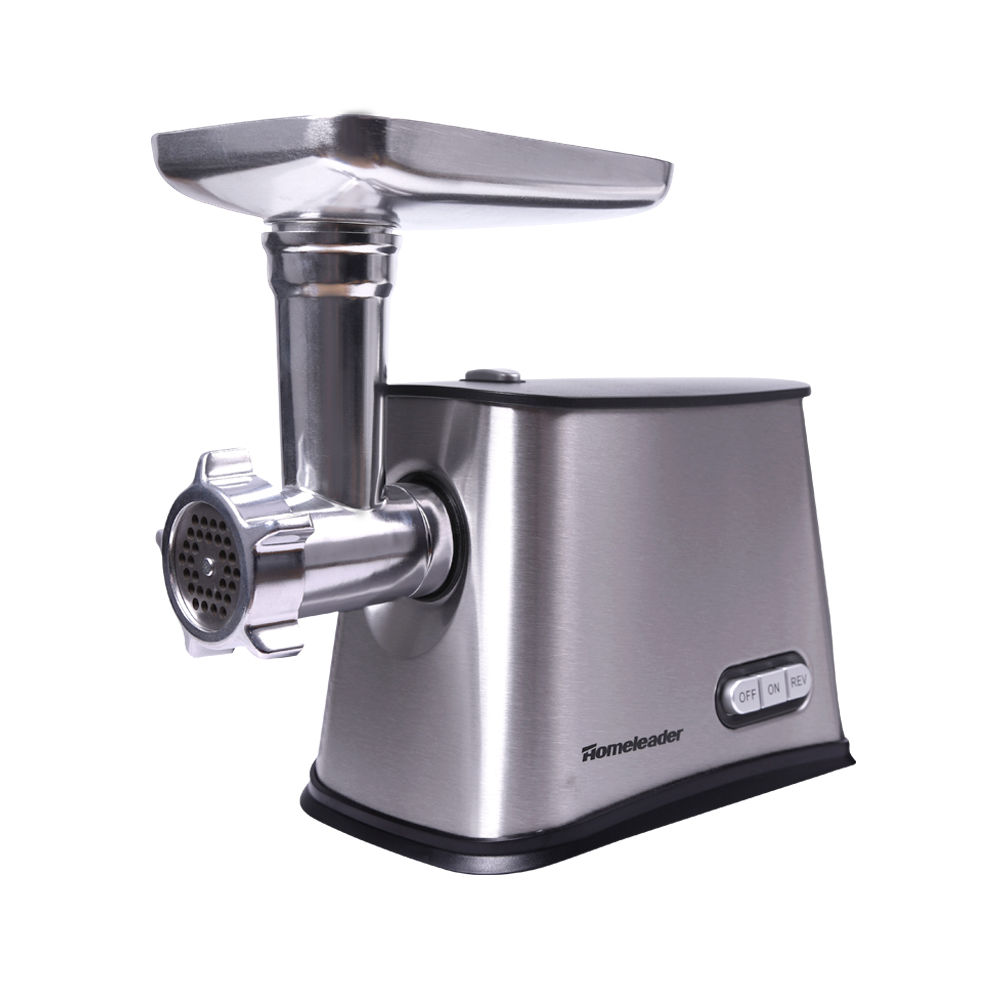 250W Electric Stainless Steel Meat Grinder with 3 Grinding Plates Silver Food Mincer Sausage Maker... by