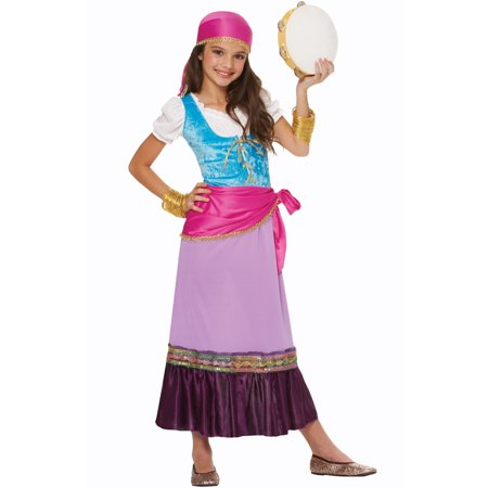 Pretty Gypsy Child Costume