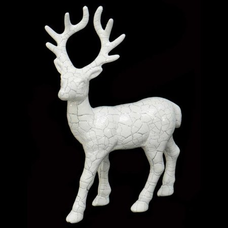 The Holiday Aisle Decorative Standing Deer Figurine (Set of 2)