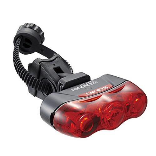 CatEye Rapid 3 Auto Bicycle Tail Light - TL-AU630-R - 5446310
