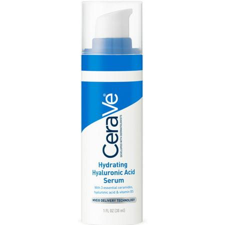 - 2 Pack - CeraVe Hydrating Hyaluronic Acid Serum 1 oz
