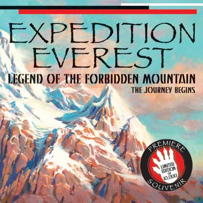 Expedition Everest : Legend of the Forbidden Mountain the Journey Begins