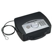 SentrySafe P008E Portable Security Safe with Digital Lock, 0.08 Cu. ft., Black