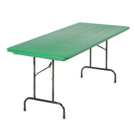 Correll Rectangle Commercial Grade Blow Molded Folding Table ()
