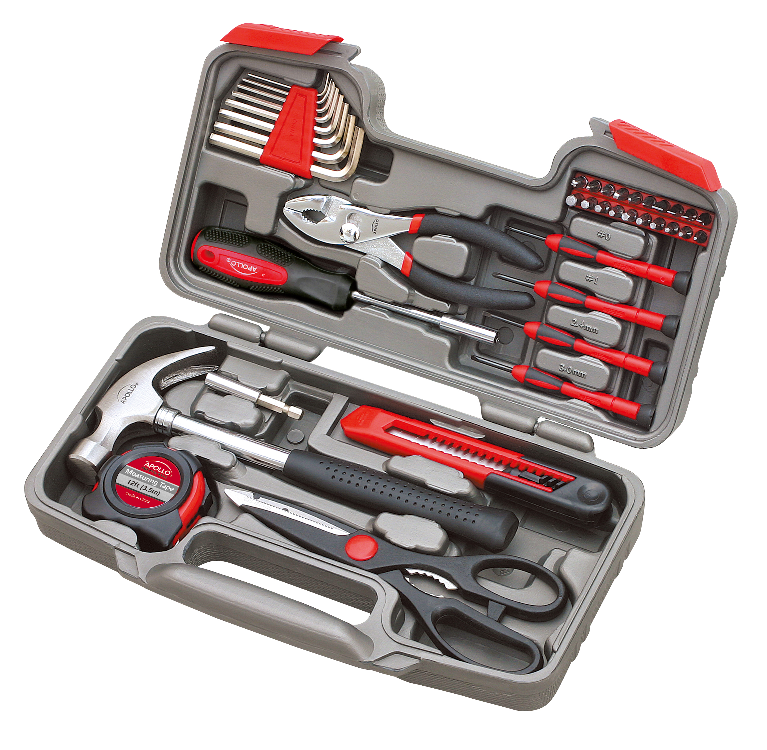 Apollo Tools DT9706 39-Piece Hand Tool Set