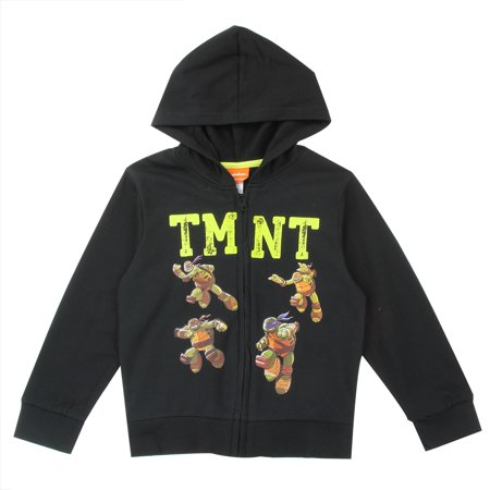 Teenage Mutant Ninja Turtles 4-7 Youth Zip Hoodie for Boys](Minecraft Zip Up Hoodie Youth)