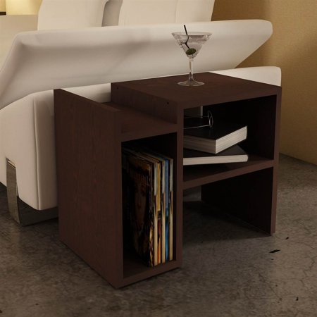 Seymour Side Table In Wenge Finish