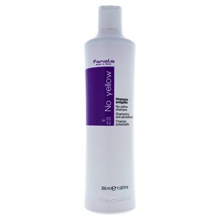 No Yellow Shampoo by for Unisex - 11.8 oz Shampoo