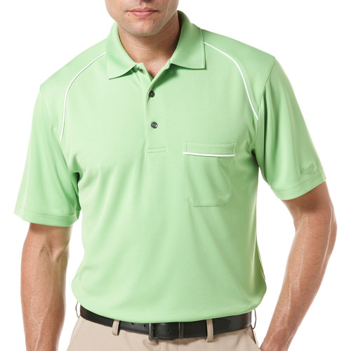 Ben Hogan's Men's Short Sleeve Piped Pocket Polo