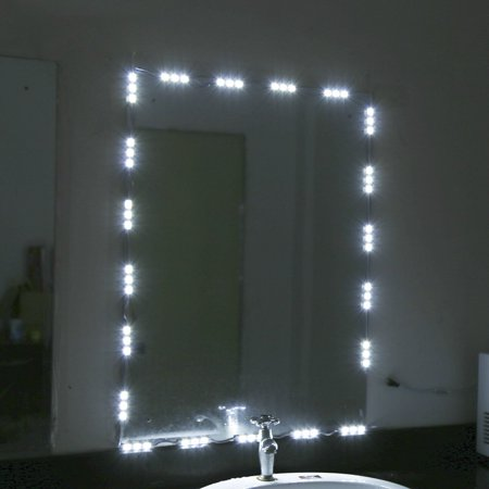 Led mirror light,5FT White LED Vanity Make-up Light Dressing Mirror Light Kit Mirror Lamp Kit for Cosmetic Makeup Vanity](Quotes About Dressing Up For Halloween)