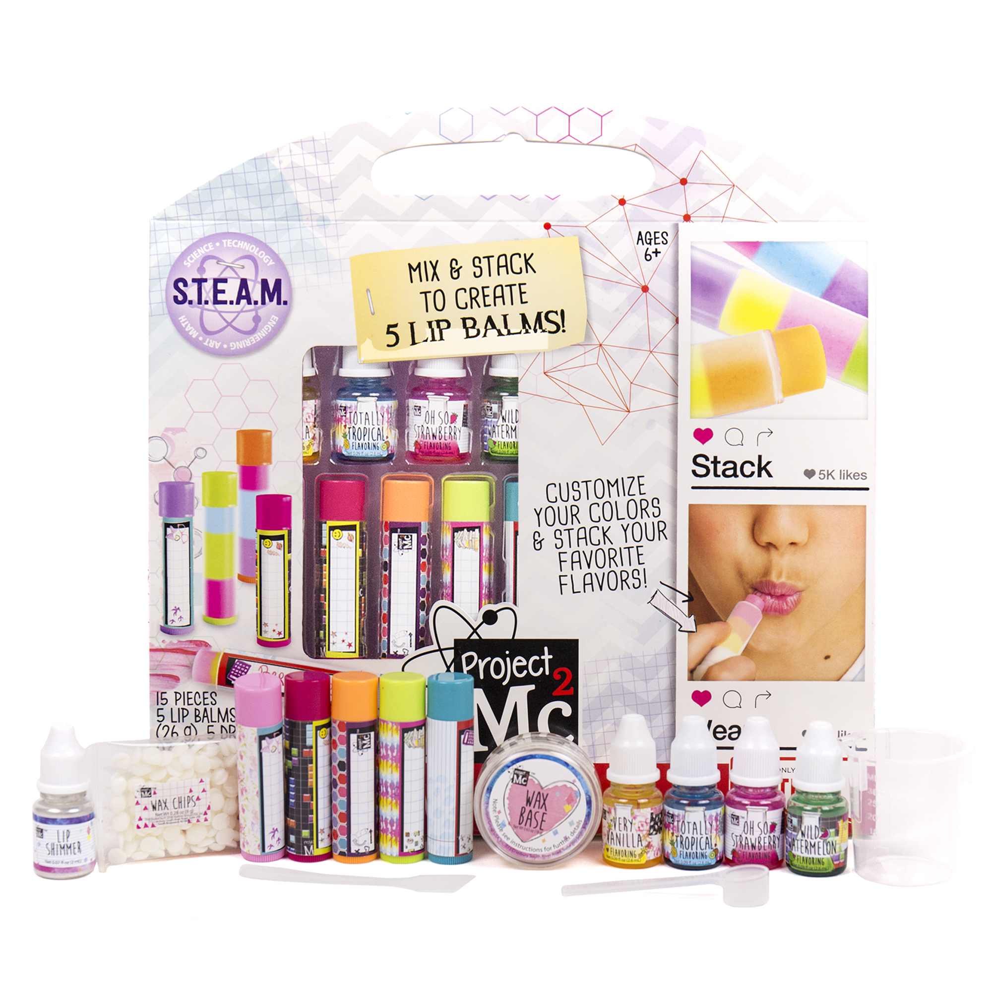 Project Mc2 Lip Balm Lab Activity Kit Only $5