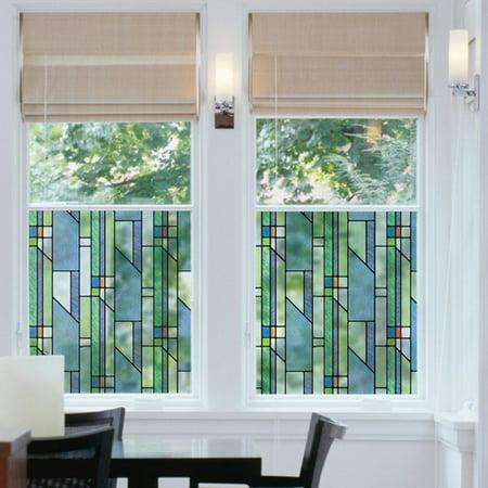 Brewster Home Fashions Geometrics Window Film Walmart Com