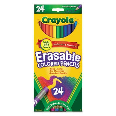 Crayola Erasable Color Pencil Set