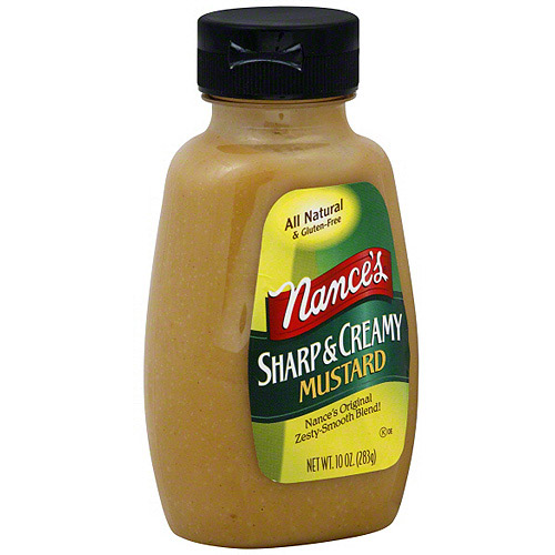 Nance's Sharp & Creamy Mustard, 10 oz (Pack of 12)