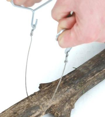 Pocket Saw - Pocket Camp Flexible Wire Emergency Steel Chain Hand Saw Tool for Camping Wood