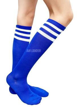 06aa3b51884 Product Image AM Landen Womens Stripe Knee High Socks Stripe Socks  Cheerleader Socks Uniform Socks (A.