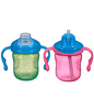 Playtex Sipsters Stage 1 Straw and Spout Trainer Sippy Cup 6oz 2-Pack