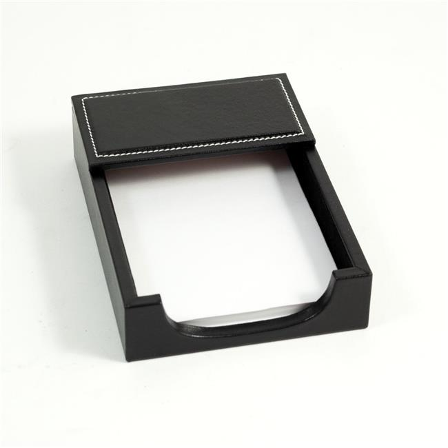 Bey-Berk International D1312 4 x 6 in. Leather Memo Holder Black by Bey Berk International