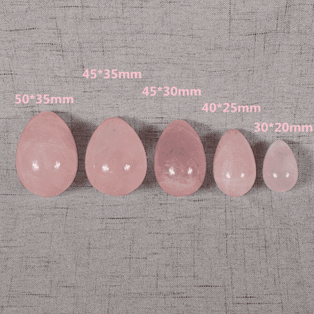 Natural Crystal Quartz Jade Fluorite Egg Pelvic Muscle Exercise Tightening (Best Belly Tightening Exercises)