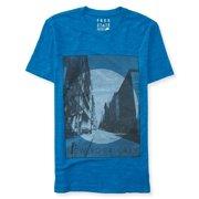 Aeropostale Mens Street Scene Graphic T-Shirt