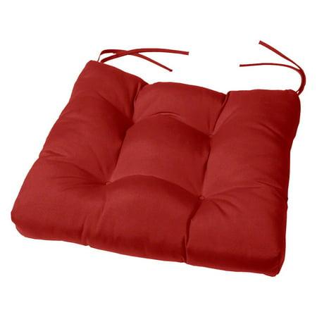 Cushion Source 15 X 15 In Solid Sunbrella Chair Cushion Walmart Com