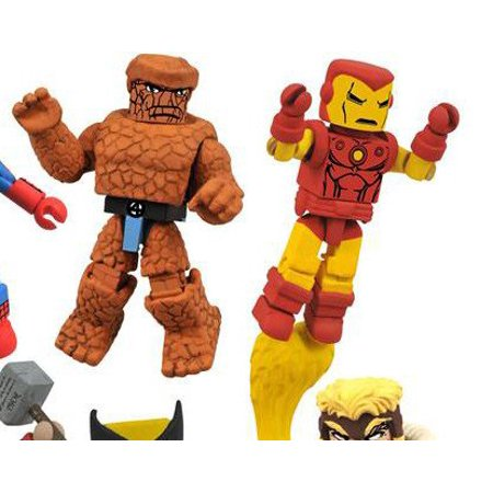 MiniMates: Marvel Best of Series 1 Captain America and Thor Mini Figure