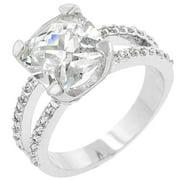 Icon Bijoux R07436R-C01-08 Pop Star Engagement Ring (Size: 08)