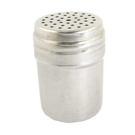 Kitchen Metal Spices Cruet Chili Salt Pepper Shaker Toothpick Holder