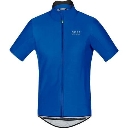 GORE BIKE WEAR Men's Power WS SO Jersey, Orange, XX-Large Brilliant Blue