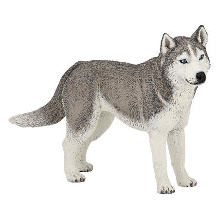 Siberian Husky Toy Figure, Papo does everything to arouse kids' curiosity through the creation of educational toys By