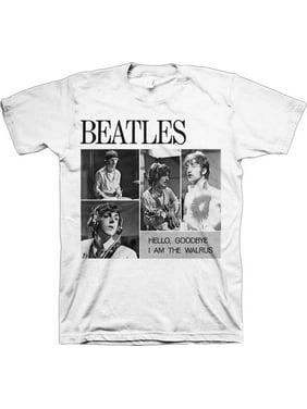 The Beatles 4 Blocks Hello Goodbye Adult T-Shirt
