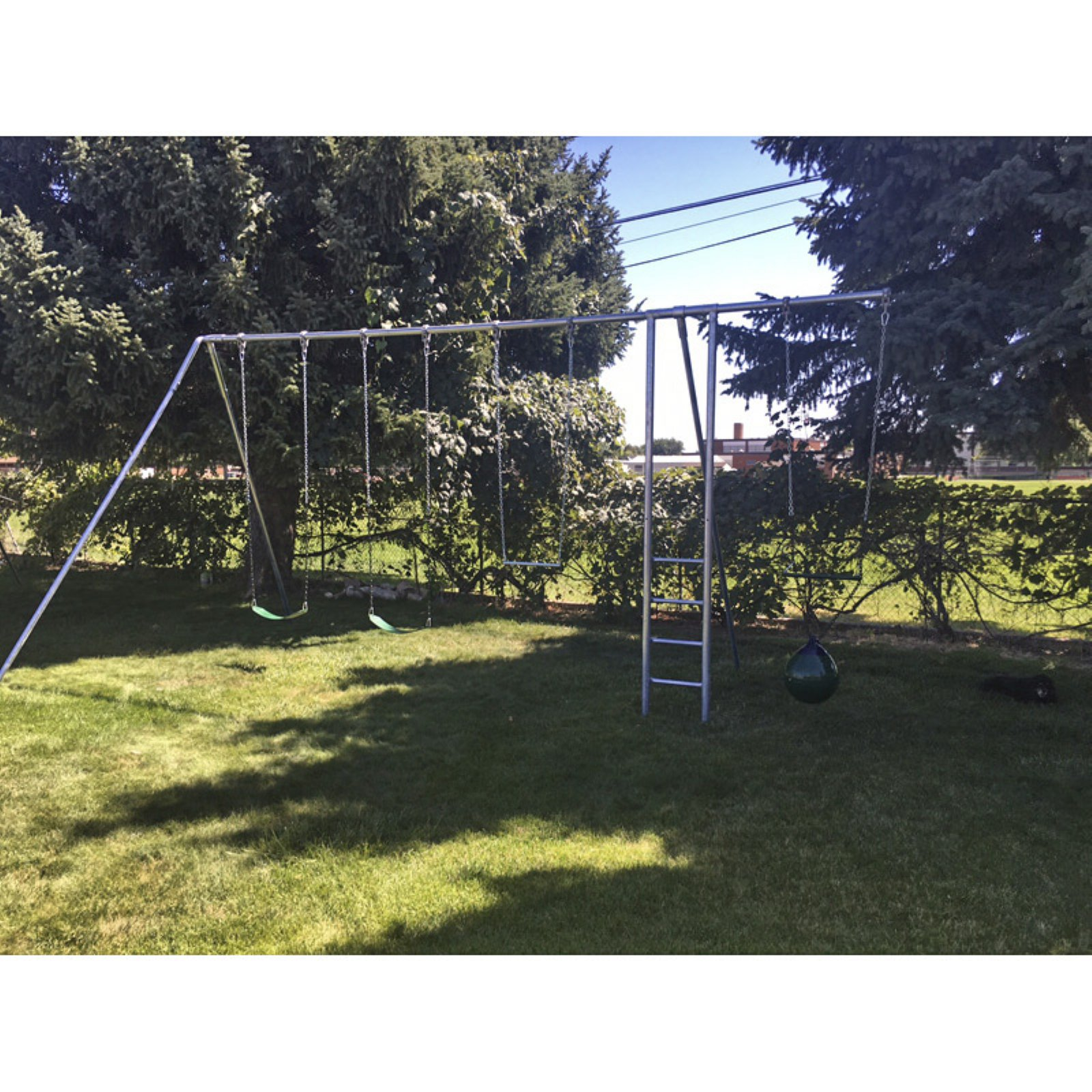 Component Playgrounds Grant Metal Swing Set