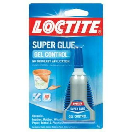 Henkel Gel Glue - Blue Wing 4 Gram Super Glue Gel Finger Friendly Applicator No More 4PK