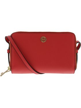 48b84d645148 Product Image Tory Burch Women s Parker Double-Zip Mini Bag Leather Cross  Body - Red Ginger