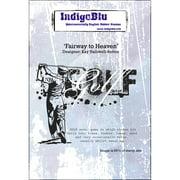 "IndigoBlu Cling Mounted Stamp 5""X4""-Fairway To Heaven"